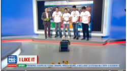 """Lotul national de roboti"" AutoVortex a facut o demonstratie in direct la emisiunea IlikeIT de la ProTV"