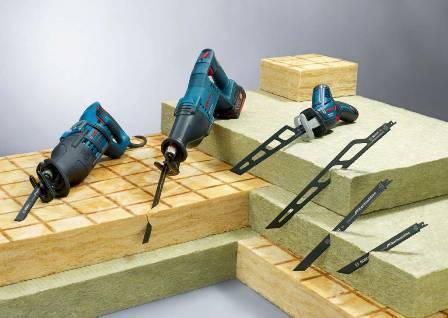 """Bosch lansează noile pânze profesionale de ferăstrău sabie """"Precision for Fiber Insulation"""" 1"""
