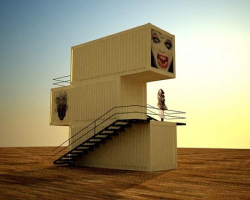 Case și vile din containere