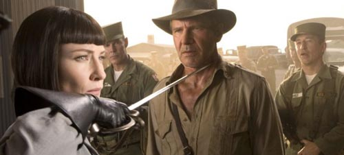 Irina Spalko, Cate Blanchett, Indiana Jones and the Kingdom of the Crystal Skull