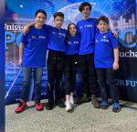 Echipa Quantum Bits la concursul regional din Bucuresti - 2020