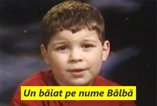 De ce crezi că acest copil nu va ajunge niciodată prezentator de televiziune?